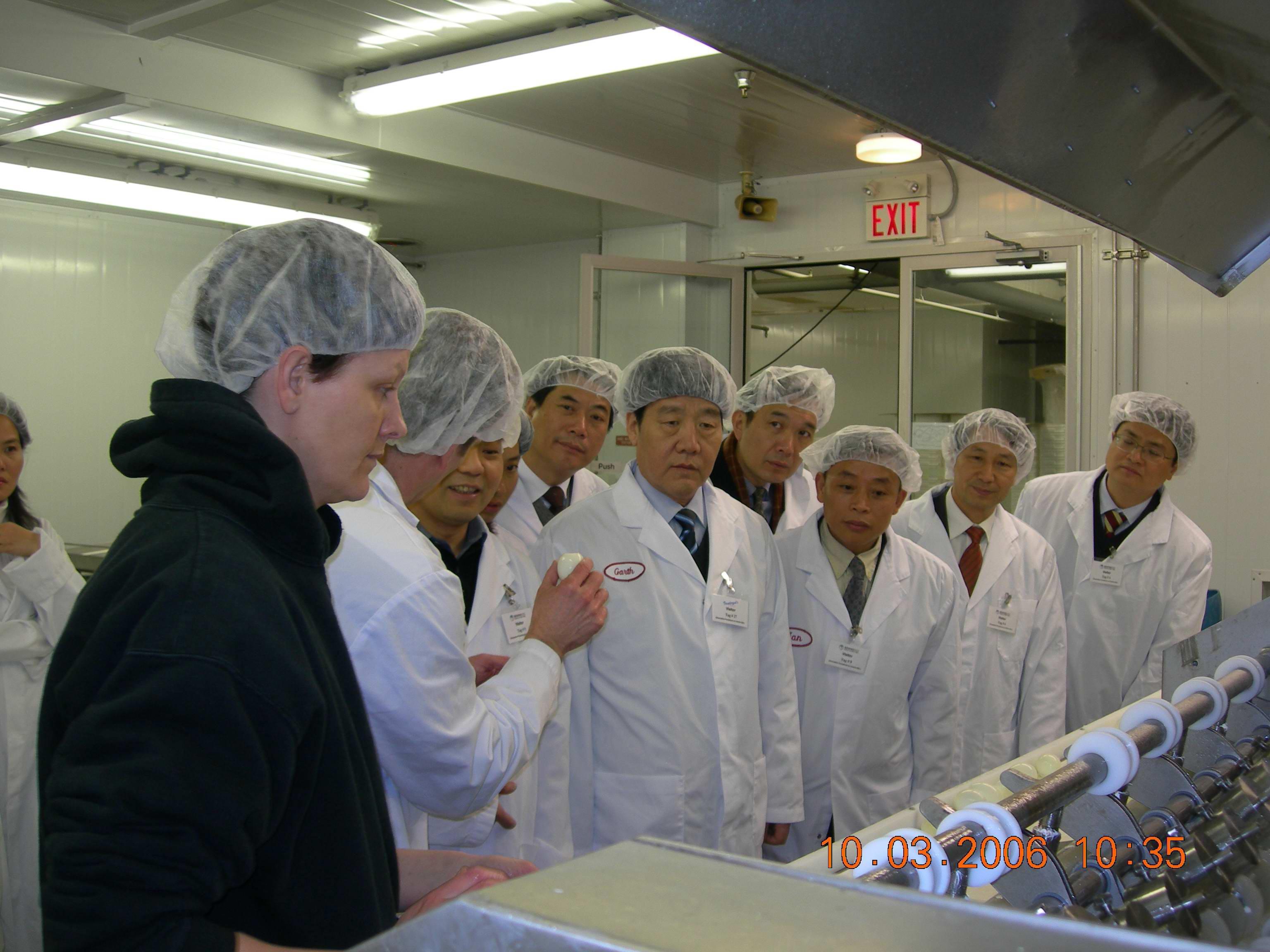 2006.03.10自治區政協主席馬鐵山帶隊在加拿大考察所合作項目
