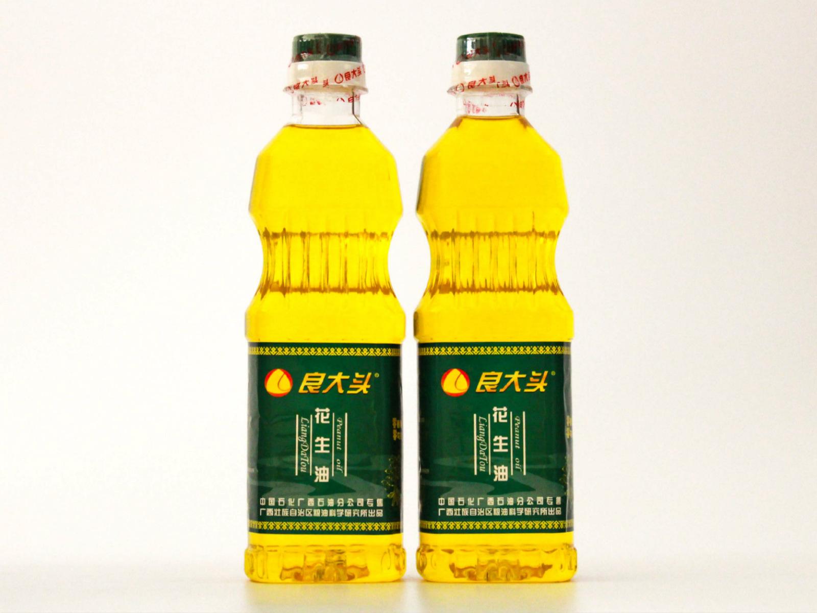 """""""良大頭""""原汁花生油500ml"""
